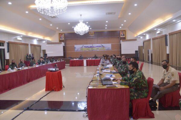 Taklimat Awal Wasrikkap Itjenau TA.2020 di Kohanudnas dan Jajaran 113
