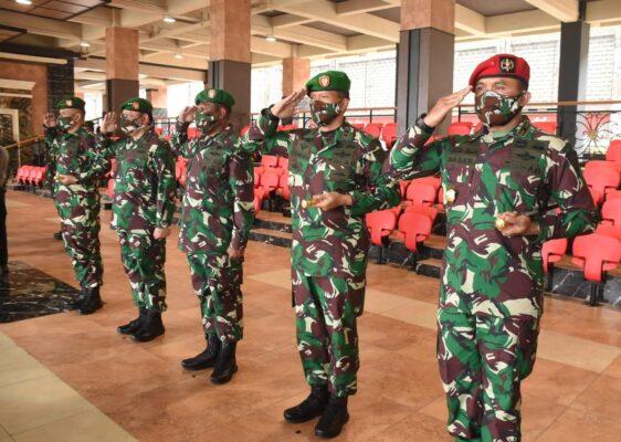 Kasad Pimpin Sertijab 5 Jabatan Strategis dan Terima Laporan Kenaikan Pangkat Perwira Tinggi TNI AD 115