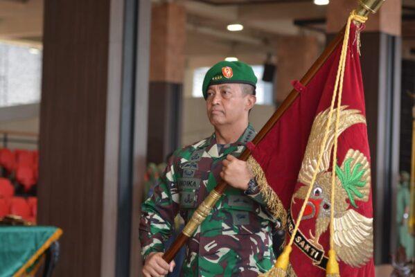 Kasad Pimpin Sertijab 5 Jabatan Strategis dan Terima Laporan Kenaikan Pangkat Perwira Tinggi TNI AD 113