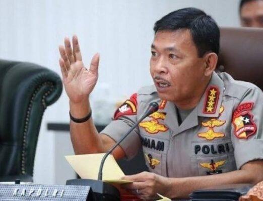 Kapolri Tegaskan Akan Copot Anggota yang Terlibat Politik Praktis 113