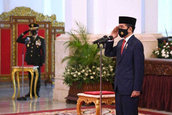 Presiden : Sinergi Adalah Kunci Membangun Kekuatan Pertahanan yang Kokoh dan Efektif 109