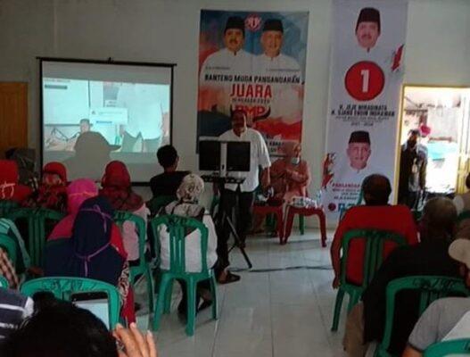 """Pilkada Pangandaran: Paslon JUARA Sosialisasikan Program Prioritas Melalui """"Kartu Sakti"""" 113"""