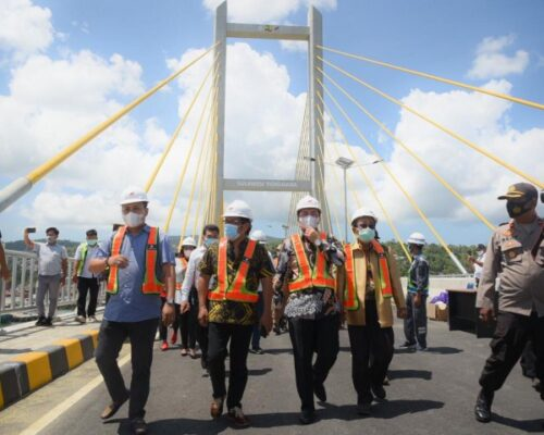 Jembatan Teluk Kendari Tingkatkan Perekonomian Sultra 113
