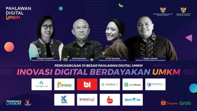 Kemenkop UKM Umumkan 10 Pahlawan Digital UMKM 2020 111