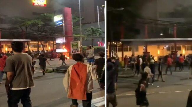 Polisi Pastikan Tidak Ada Penjarahan di Thamrin City 109