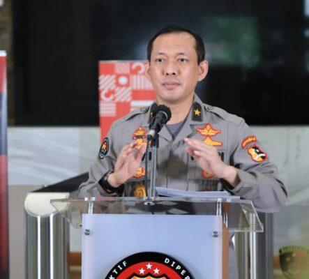 Polri Kerahkan Brimob Nusantara Amankan Demo Tolak Omnibus Law di Jakarta - Jabar 113