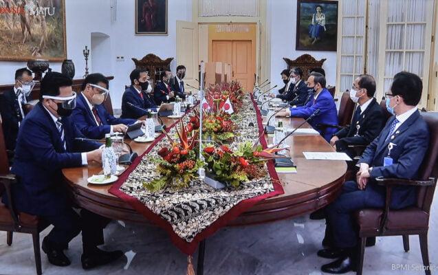 Presiden Joko Widodo Lakukan Pertemuan Bilateral Dengan PM Jepang Yoshihide Suga 113