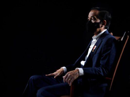 Presiden Jokowi : Keseimbangan dan Optimisme, Strategi Penanganan Covid-19 113