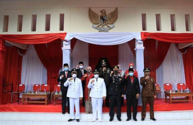 Bupati Pangandaran Pimpin Upacara Peringatan HUT Ke 75 Kemerdekaan RI 114