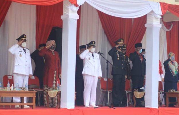 Bupati Pangandaran Pimpin Upacara Peringatan HUT Ke 75 Kemerdekaan RI 113