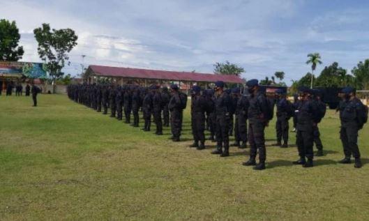 100 Personel Brimob Sumbar Tugas BKO di Wilayah Polda Metro Jaya 113