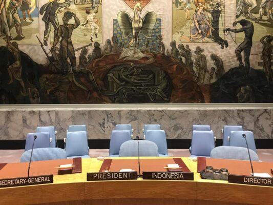 Dewan Keamanan PBB Sahkan Resolusi Penanggulangan Terorisme Prakarsa Indonesia 113