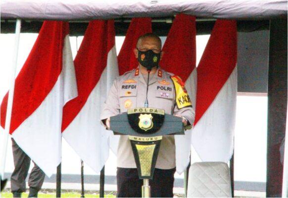 Kapolda Maluku : Minta Personel Tetap Menjaga Komitmen Sinergitas 113