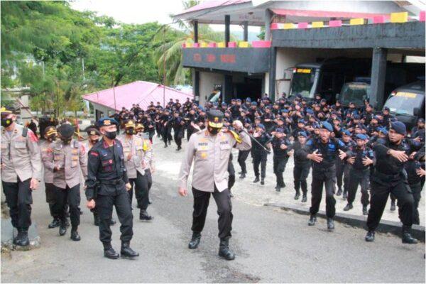 Kapolda Maluku : Minta Personel Tetap Menjaga Komitmen Sinergitas 114