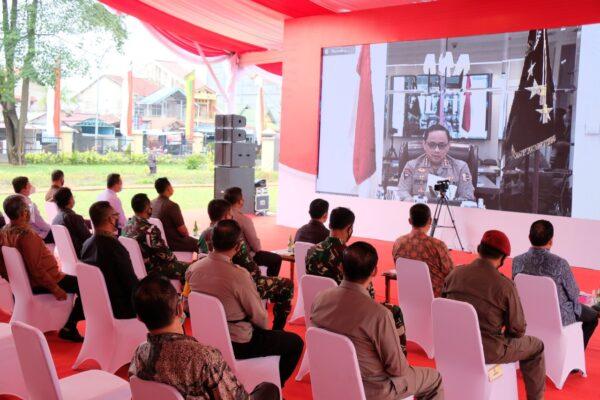 Tingkatkan Pelayanan Masyarakat, Wakapolri Resmikan Gedung Baru Polda Riau Secara Virtual 113