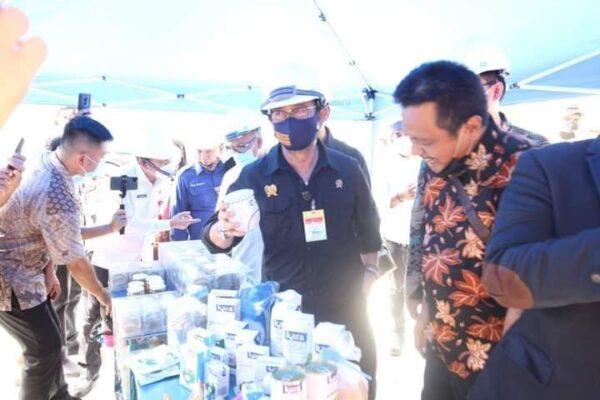 Mentan Lepas Ekspor Perdana Larva Kering Riau ke Inggris 114