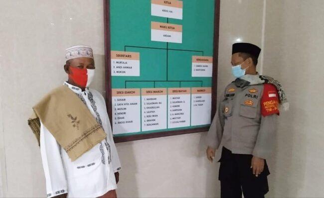 Polsek Kep Seribu Utara Rangkul DKM Masjid Bentuk Masjid Tangguh Jaya 114