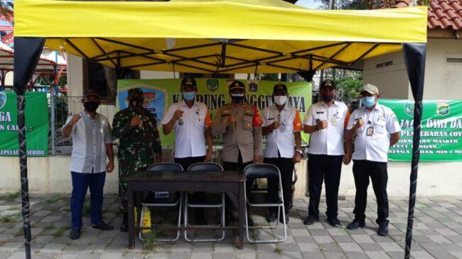 Bersama Tiga Pilar, Polsek Kep Seribu Utara Adakan Apel Kesiapan Kampung Tangguh Jaya di Pulau Kelapa 113