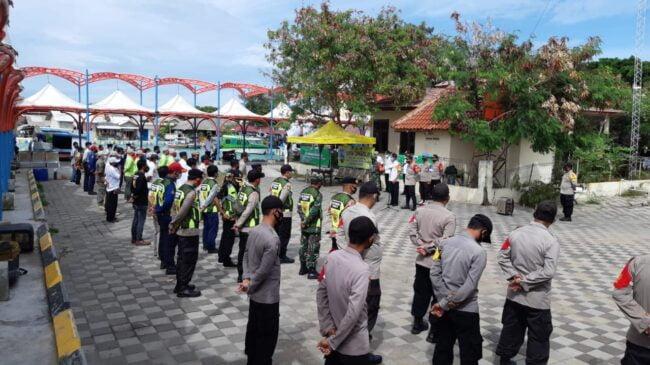 Bersama Tiga Pilar, Polsek Kep Seribu Utara Adakan Apel Kesiapan Kampung Tangguh Jaya di Pulau Kelapa 114
