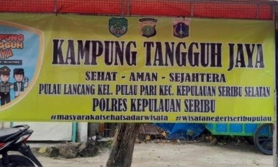 Dua Kampung Tangguh Jaya Di Kecamatan Kep Seribu Selatan Telah Terbentuk 113