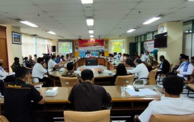 Kapolres Kep Seribu Pimpin Rakor Lintas Sektoral Ops Lilin Jaya 2020 114