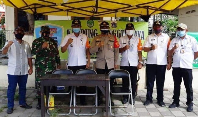 Polsek Kep Seribu Utara, Serentak Bentuk Kampung Tangguh Jaya Di 4 Pulau Pemukiman 114