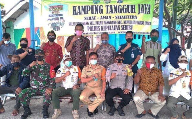 Polsek Kep Seribu Utara, Serentak Bentuk Kampung Tangguh Jaya Di 4 Pulau Pemukiman 113