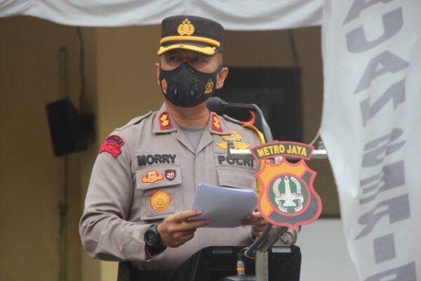 Kapolres Kep Seribu Pimpin Apel Gelar Pasukan Ops Lilin Jaya 2020 113