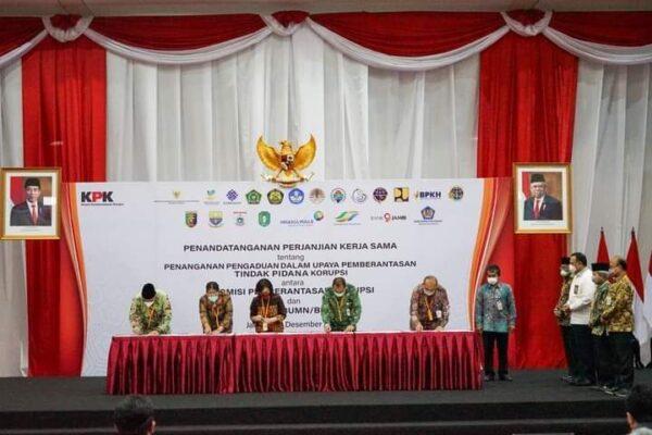 KPK Kini Bisa Bertukar Data Pengaduan Dengan 21 Kementerian/Lembaga 113