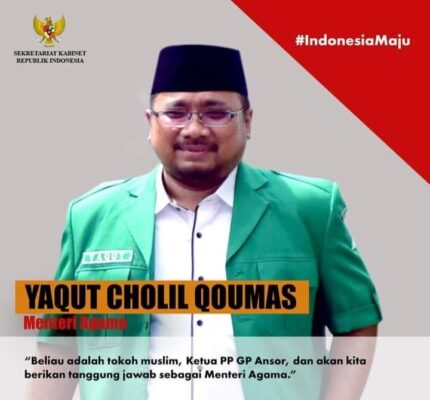 Ditunjuk Jadi Menag, Yaqut Cholil Ingin Agama Jadi Inspirasi Bukan Aspirasi 113