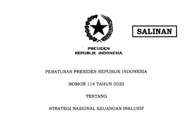 Presiden Jokowi Teken Perpres Tentang Strategi Nasional Keuangan Inklusif 113