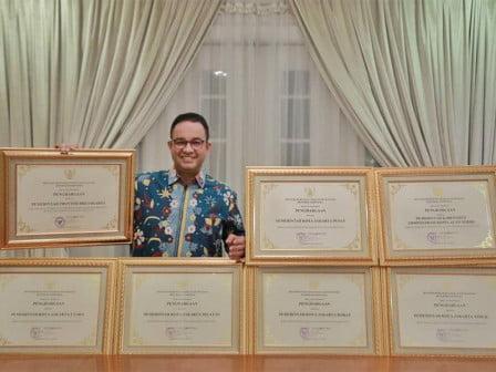 Provinsi DKI dan Enam Wilayah Kota Administrasi Raih Penghargaan Peduli HAM dari Menkumham 113