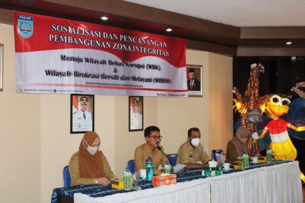 Banjar Canangkan Pembangunan Zona Integritas WBK Dan WBBM 111