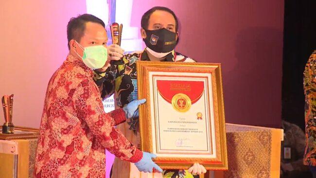 Kabupaten Pangandaran Raih Penghargaan Kabupaten INOVATIF dari Mendagri 113