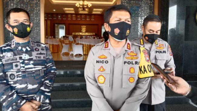 Pengamanan Nataru 2020, Kapolda Jatim Pastikan Personel Gabungan TNI Polri dan Pemda Terapkan Protokol Kesehatan 113