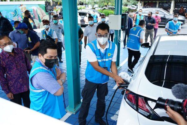 Erick Thohir Tegaskan Kesiapan Indonesia Jadi Pemain Utama Industri Mobil Listrik 113