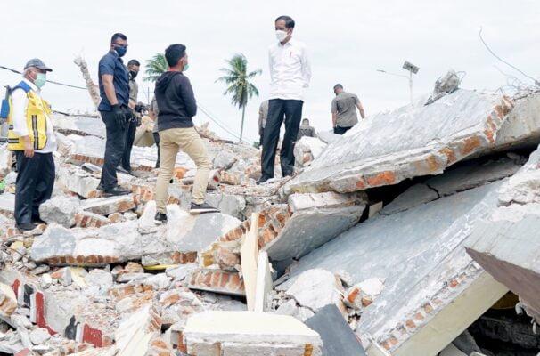BNPB Minta Pendataan Rumah Rusak Pascagempa Sulbar Segera Diselesaikan 111