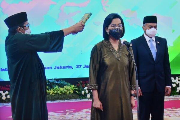 Presiden Jokowi Lantik Anggota Dewan Pengawas LPI 111