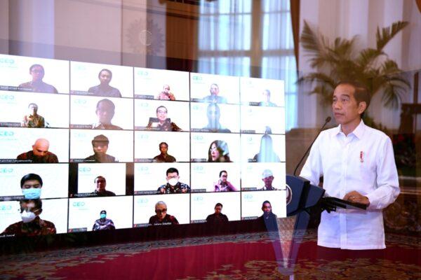 Presiden Jokowi Optimistis Tahun 2021 Jadi Momentum Untuk Bangkit 113