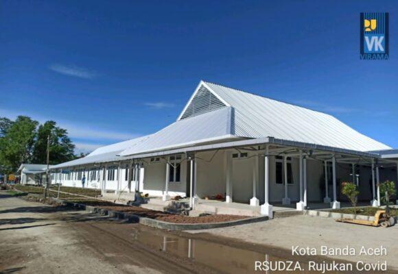 Kementerian PUPR Rampungkan Peningkatan Kapasitas Gedung Tiga RS Rujukan COVID-19 111