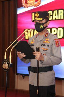 Kapolda Pimpin Sertijab Empat Pejabat Utama Polda Kaltim 113