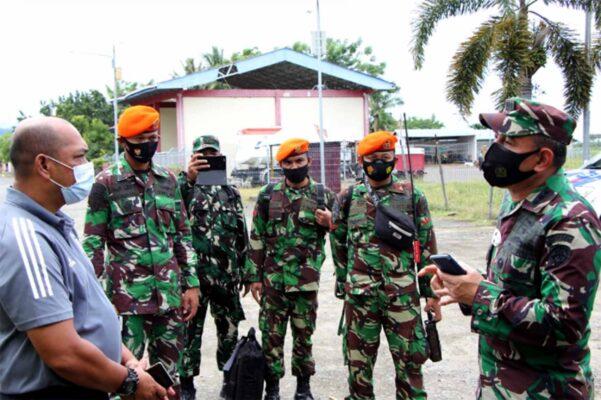 Danwing II Paskhas Memberangkatkan Pasukan Penanggulangan Bencana Ke Mamuju 111