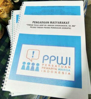 Oknum Penyidik Bareskrim Diduga Peras Warga, PPWI Lapor Kapolri dan Presiden 111