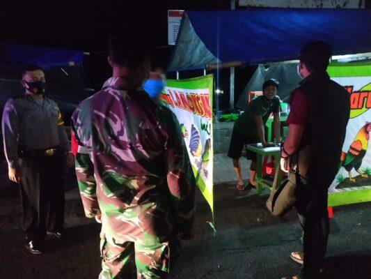 Patroli Gabungan PPKM Cegah Warga Boyolali Berkerumun 113
