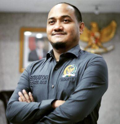 Ketua komite I Fachrul Razi mengapresiasi kinerja KPK tahun 2020 113