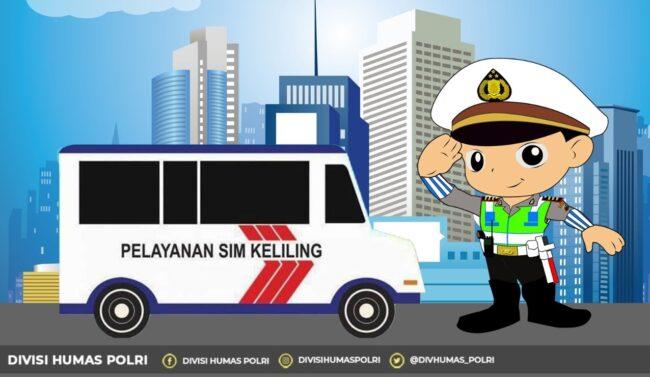 Dua Lokasi Layanan SIM Keliling di Jakarta Hari ini, Minggu 10 Januari 2021 113