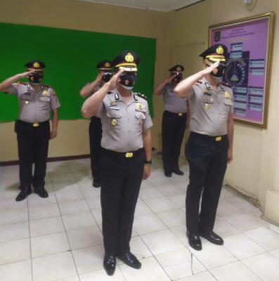 Kabag OPS Polres Kep Seribu AKP Zaroki Saputra, SH Resmi Menyandang Pangkat Kompol 113