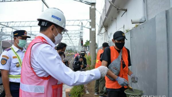 Program Padat Karya Sektor Perkeretaapian di Jateng, Kemenhub Targetkan Serap 39 Ribu Tenaga Kerja 113