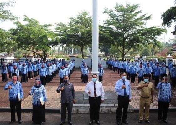 125 Pegawai Pemkab Pangandaran Terima SK 111