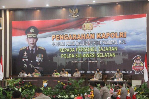 Kapolri Beri Reward Dua Anggota Polda Sulsel Sekolah Inspektur Polisi 113
